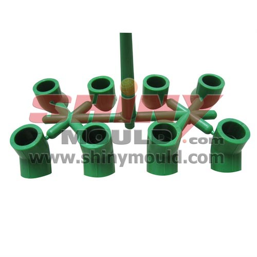 8 cavity PPR fitting mould, elb