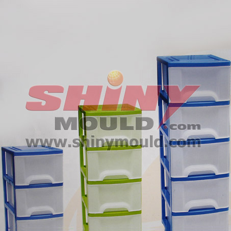 plastic drawer mould, household